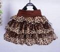 Primavera verão menina Tutu saias moda padrão Leopard bebê menina saias marcas crianças Tutu Skirt princesa partido do miúdo saia menina