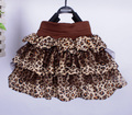 Spring Summer Girl tutu Skirts Fashion Leopard pattern Baby Girl Skirts Brands Children Tutu Skirt Princess Party Kid Skirt Girl