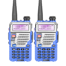 2PCS BaoFeng UV-5RE Walkie Talkie Transceiver Dual Band Two Way Radio 136-174Mhz&400-520Mhz Free Earphone