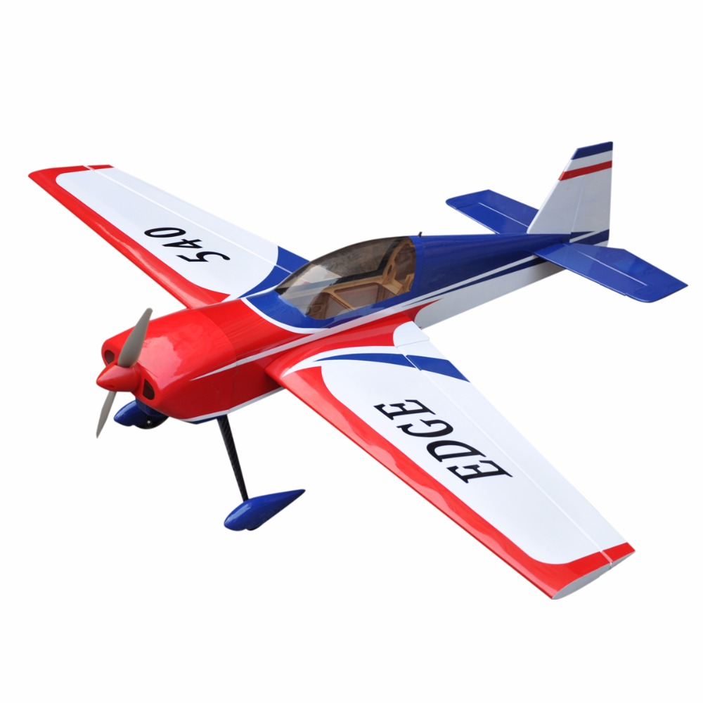 Electric plane edge 540 ep 6 channels common film large scale rc balsa wood model airplane arf in rc airplanes from toys hobbies on aliexpress com