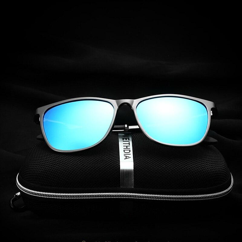 VEITHDIA Retro Aluminij Magnezij marke Muške sunčane naočale - Pribor za odjeću - Foto 5