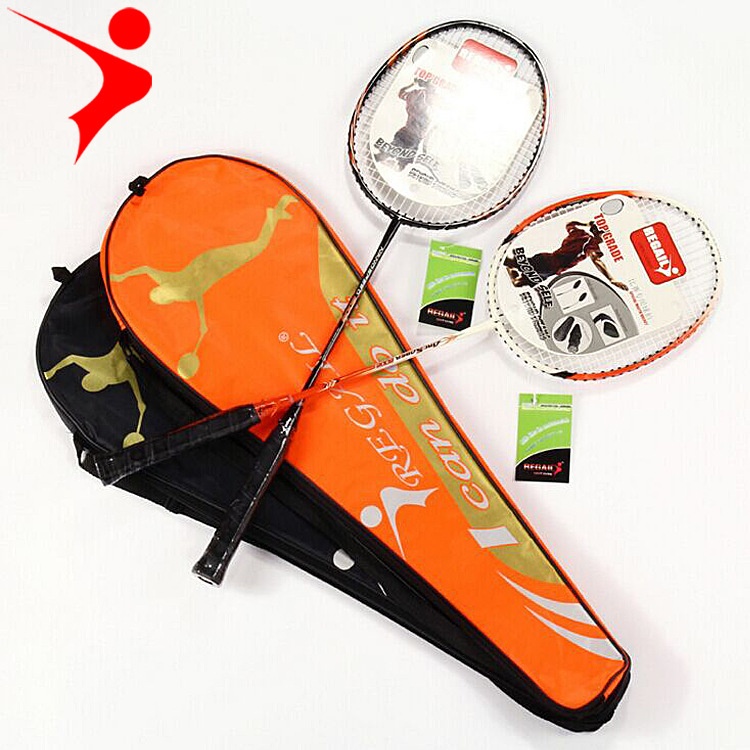 1/2pcs Carbon Badminton Racket Advanced Training Pat Special Competition High Quality Sports Bat Durable