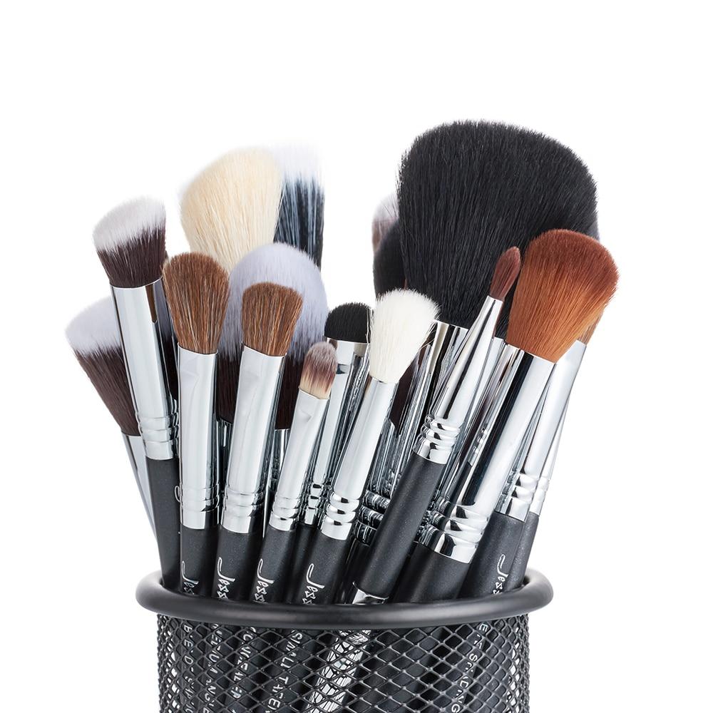 Jessup brushes 27Pcs Pro Makeup Brush Set Foundation Eye Face Shadow Lipsticks Powder Blending Beauty Brushes Kit T133