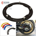 Motorbike accessories For Yamaha T-max 530 tmax 530 2012 2013 2014 2015 motorcycle Transmission Belt Pulley guard  Cover