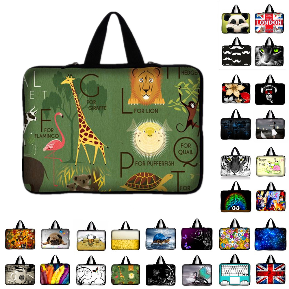 7 10 13 13.3 14 15 15.4 15.6 17 17.3 Inch Laptop sleeve Notebook Bag Case for ip