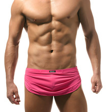 Sexy Men Underwear Gay Mens Boxer shorts Sleep Lounge Pajama Bottoms Comfortable Underpants Boxer Shorts Male