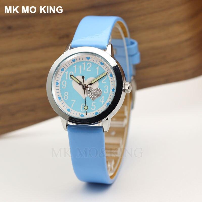 Luxury Brand Fashion Yeez-love Unique Children's Boys Girls Kids Quartz Wrist Watch Clock Gifts Bracelet Synoked Relojes New Mk