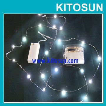factory wholesale cr2032 coin battery operated christmas xmas party tree mini micro led cheap fairy string lights in led string from lights lighting on