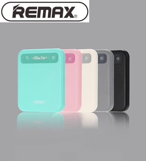 Remax 2500mAh Pino Malý mobilní telefon Velkokapacitní Mini Power Bank Všeobecný poplatek Poklad Extra Power Záložní napájení RPP-51