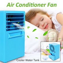 Mini Electric Air Conditioning Unit Fan Home Cooler Desktop Digital Cooling System Low Noise Cooling Fan for Summer Hot Day цена и фото