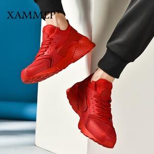 Image 5 - Кроссовки Xammep мужские сетчатые, повседневные брендовые сникерсы, лоферы на плоской подошве, дышащие, без застежки, большие размеры, весна осень