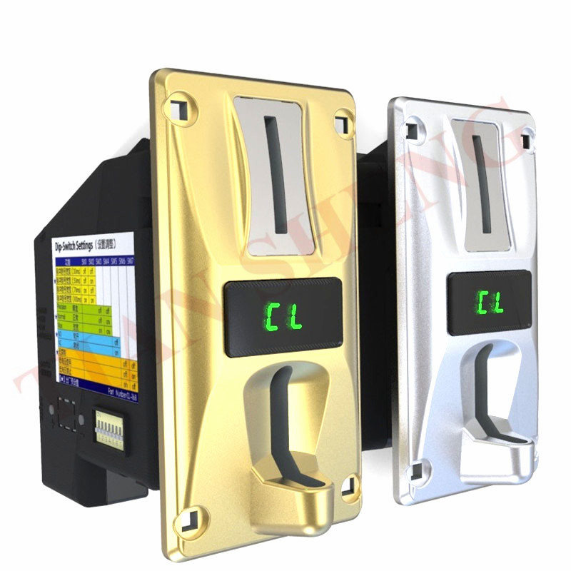 Hot-sale CL-168 Multi Coin Selector With LED High Precision Cpu Multi Coin Acceptor For Vending Machines(Accept 1-8 Coins)