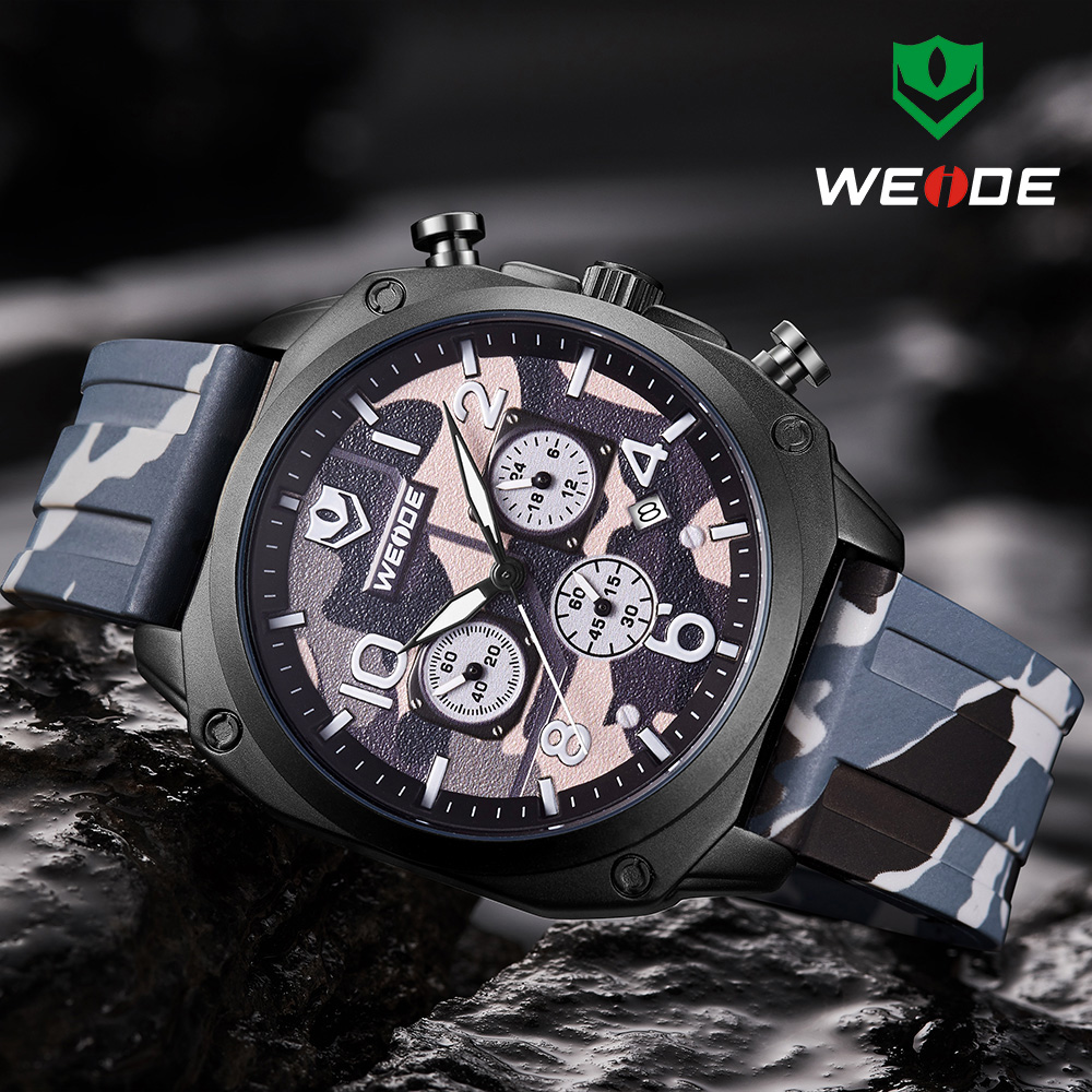Relogio Masculino WEIDE Mens Watches Top Brand Luxury