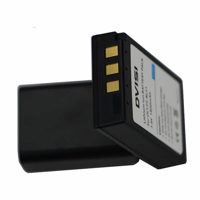 3 шт. 1.8Ah PS-BLS1 PS BLS1 PSBLS1 Перезаряжаемые Аккумулятор для Olympus PEN E-PL1 E-PM1 EP3 EPL3 Evolt E-420 E-620 E-450 E-400 E-410