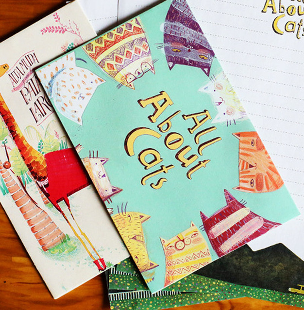 Cute 6 Sets/Lot Creative Colourful Writing Paper And Envelope