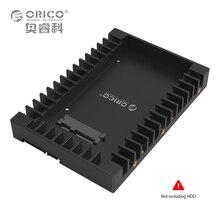 ORICO 1125SS Пластиковые 2.5 до 3.5 дюймов SATA3.0 HDD Caddy Жесткий Диск Случае Адаптер Поддержки 7/9. 5/12. 5 мм SATA HDD SSD Горячей замены