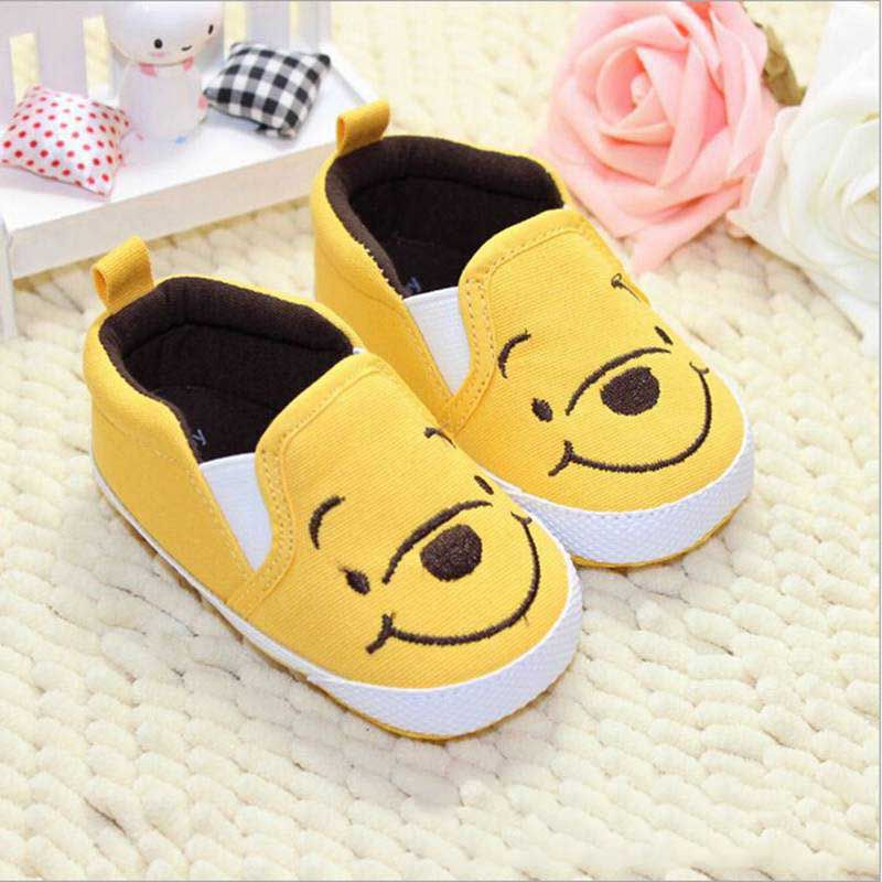 Classical Design Cute Superman Bear Cartoon Animation 3 Styles Solid Shallow Baby Girl Boy Shoes Bebe Shoes First Walkers