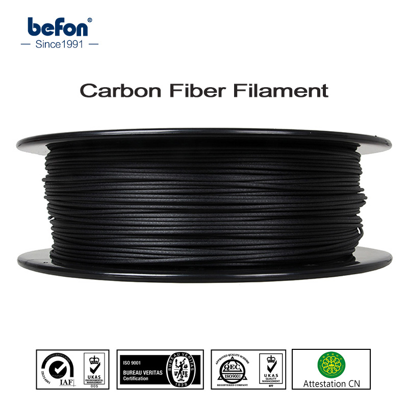 Strong PLA Carbon Fiber Filament 3D Printer Filament 1.75mm 0.5kg 1kg 3D Printing Material for MakerBot RepRap Ultimaker Printer new 3d printer printing filament abs 1 75mm 1kg for print reprap color gold yellow