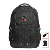 Fashion Brand Swisswin Laptop Backpack Waterproof Business Traveler Backpack Men Daily Backpack Mochila SW8110I