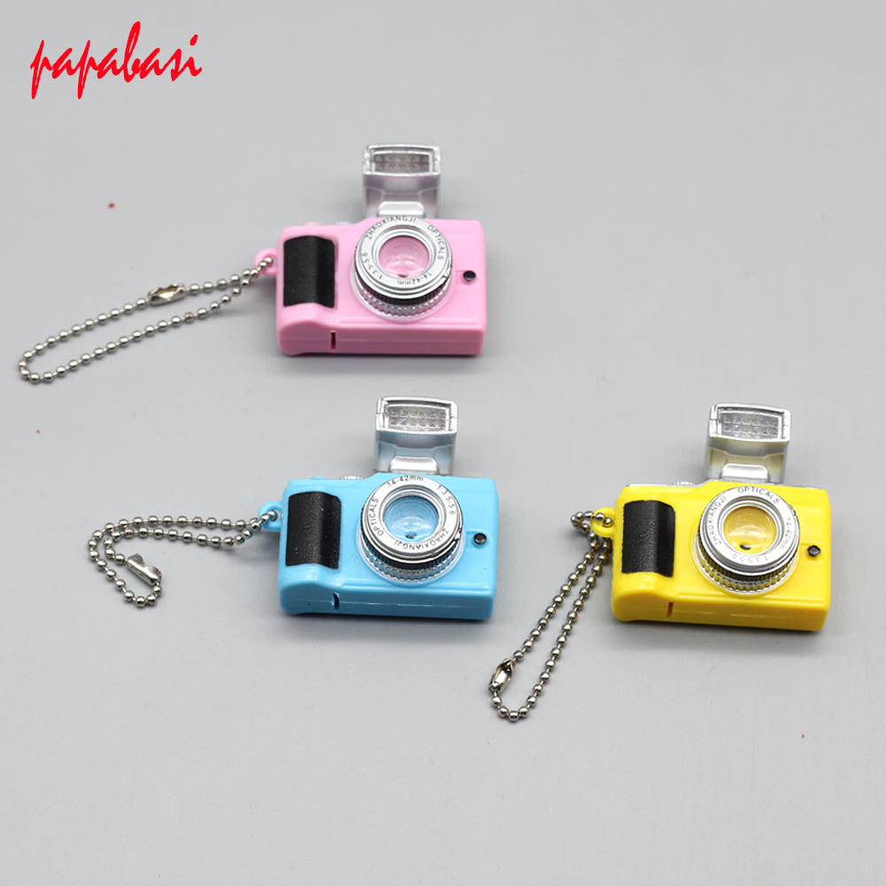 New fashion 1 pc. Super Cute Mini Doll Intimate Accessories SLR Camera for 1/6 BJD Baby Gift