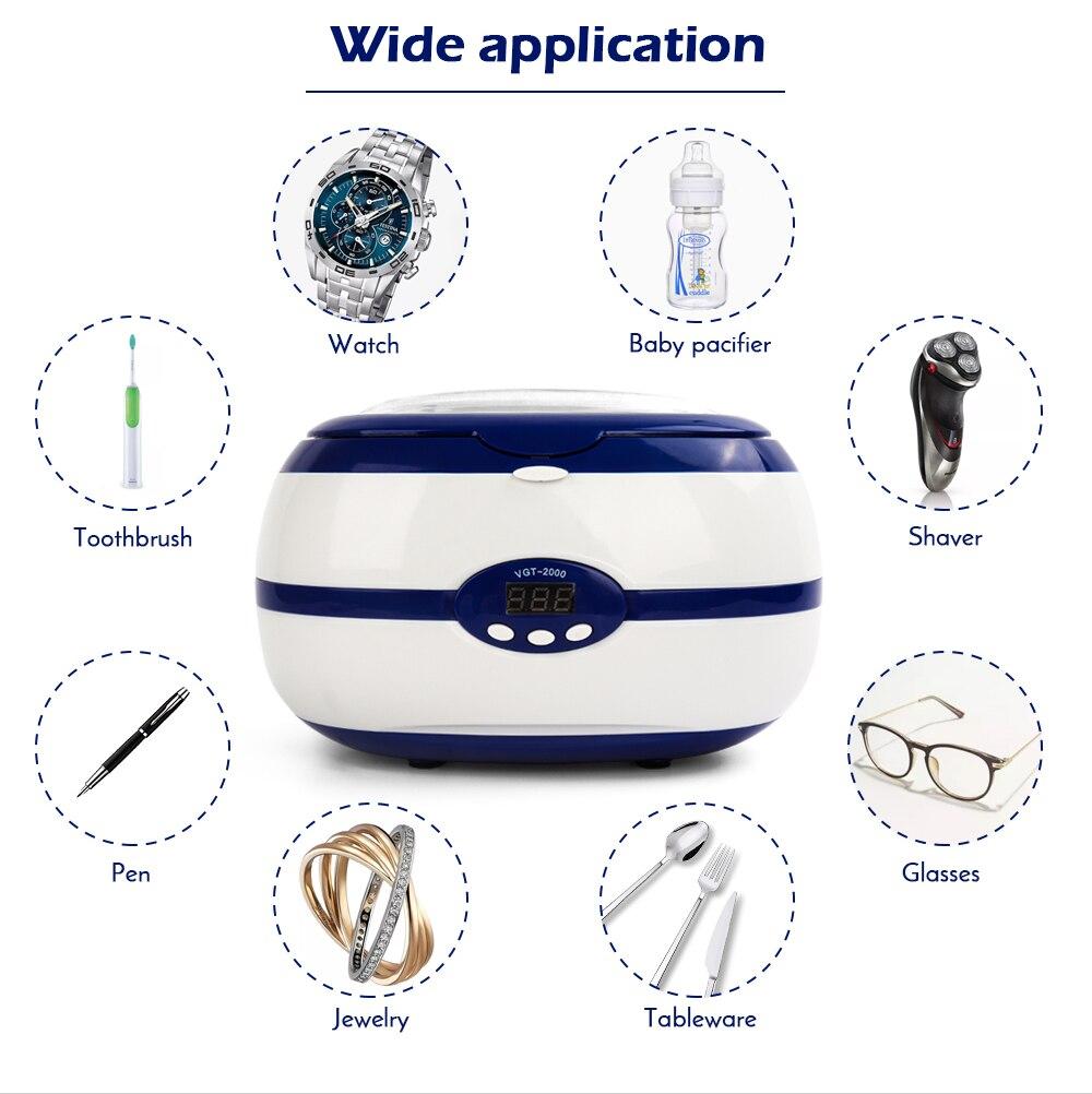 Esterilizador ultrassônico para ferramentas de manicure profissional