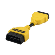 AUTOOL 14CM OBD2 Extension Cable Car for Launch IDIAG/Easydiag/Pro/Pro3/V/GOLO/Mdiag/ELM327 extend obd ii connector OBD adapter