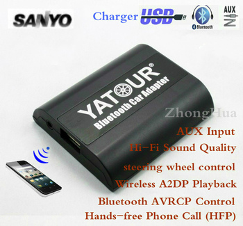 Yatour YT-BTA Bluetooth Hands-free Phone Call Car Adapter for Sanyo Ford Fiesta upports A2DP HFP AVRCP Wireless Playback