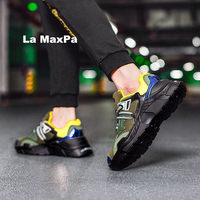 Quality Sneakers Men mesh Sport shoes Men Designer Wedges running shoes men Rubber Vulcanized shoes trainers zapatillas hombre