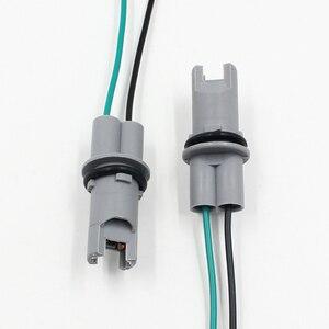 Image 4 - FSYLX רכב סטיילינג OEM 30CM T10 led הנורה שקע מחזיק T15 W5W 194 168 חוט כבל מתאם תקע מחבר t10 אוטומטי הנורה מתאם