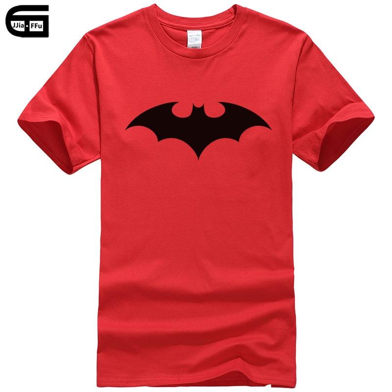 2018 New 100% cotton men   t     shirt   casual short sleeve   t  -  shirt   for men batman print male   T     shirt   crewneck homme tee   shirt   T170