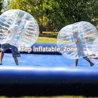 Free shipping TPU 1.0m cheap bubble soccer ball bubble ball suit inflatable bouncing ball