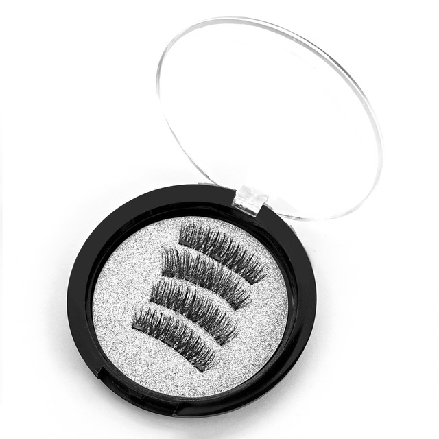 Magnetic eyelashes with 3 magnets magnetic lashes | online brands
