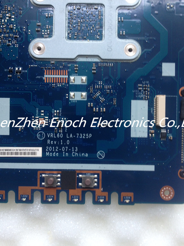 Laptop font b Motherboard b font for ASUS K53b X53U AMD CPU VRL60 LA 7325P Full