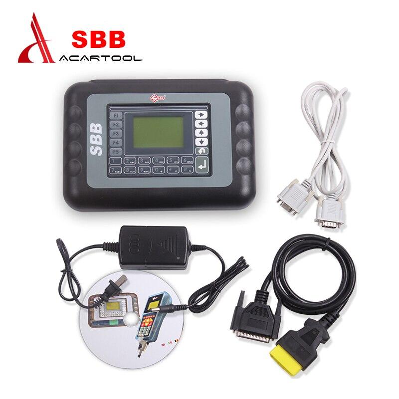 Newly SBB Key Programmer V33.01 No Token Auto Key Programmer SBB V33.01 Immobilizer Programmer Support most brazil car 3 0 lcd sbb car key programmer