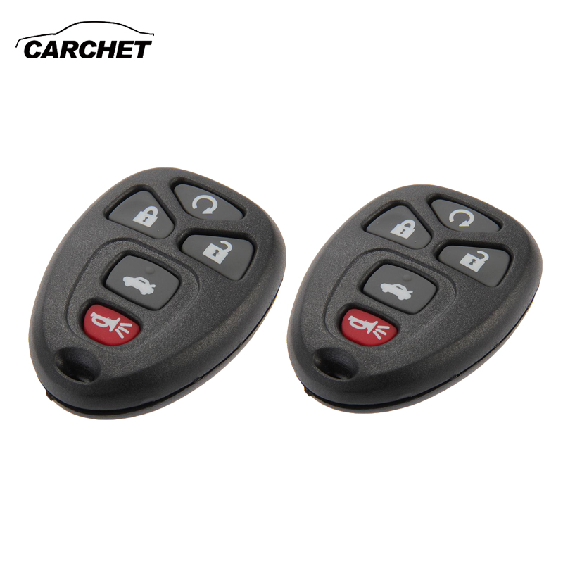 Car Key Fob Keyless Shell Case Pad For 2005 2006 2007 2008 2009 Buick Allure