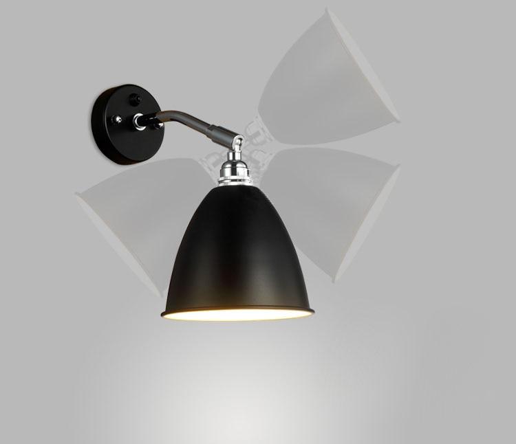 Nordic Modern Wall Lamp Sconce Loft Bedside wall lamp Guaranteed 100%+Free shipping! free shipping nordic style copper wall lamp single double head hallway light bedroom brass glass wall sconce ac 100% guaranteed