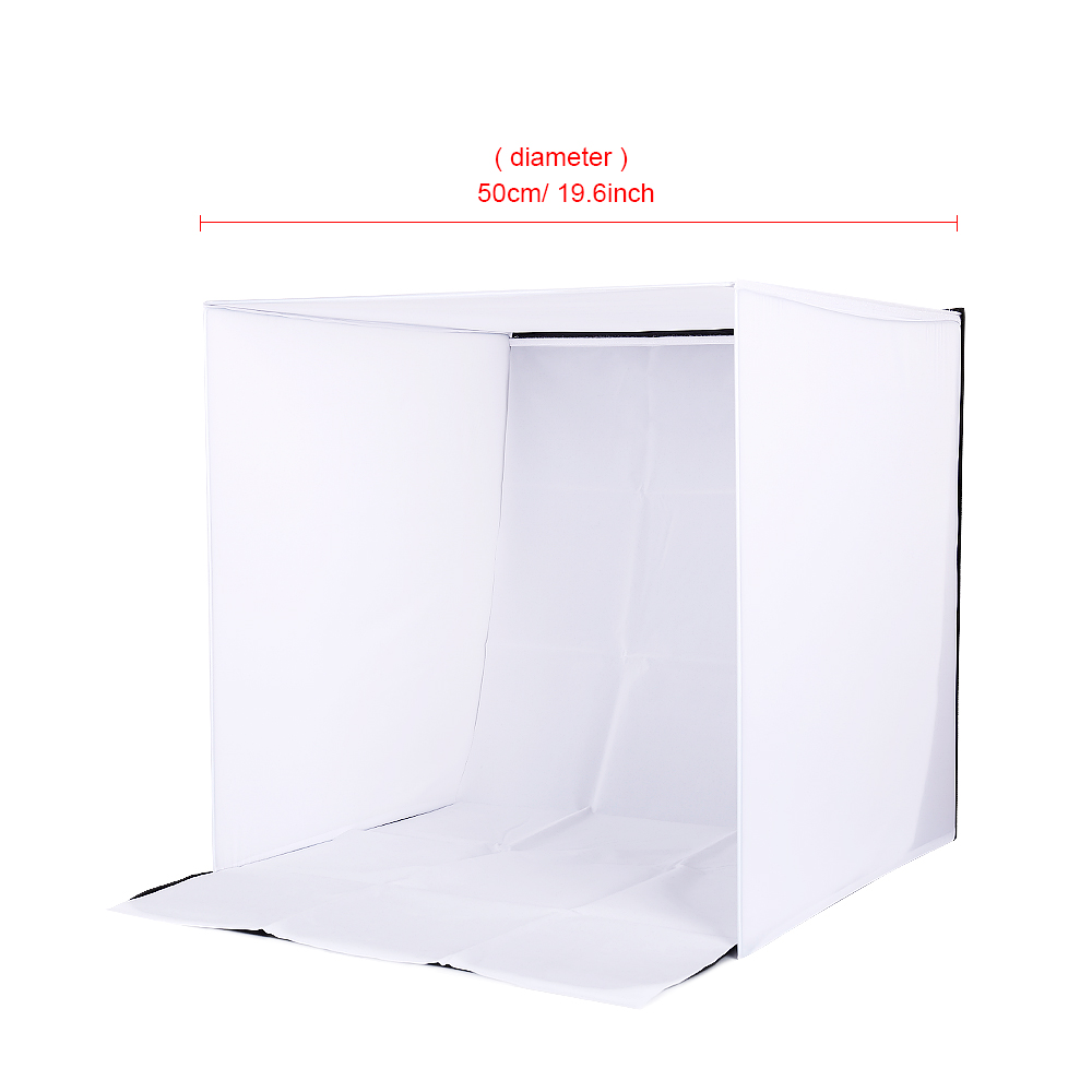 CY қоймада 50см Portable Mini Folding Studio - Камера және фотосурет - фото 3