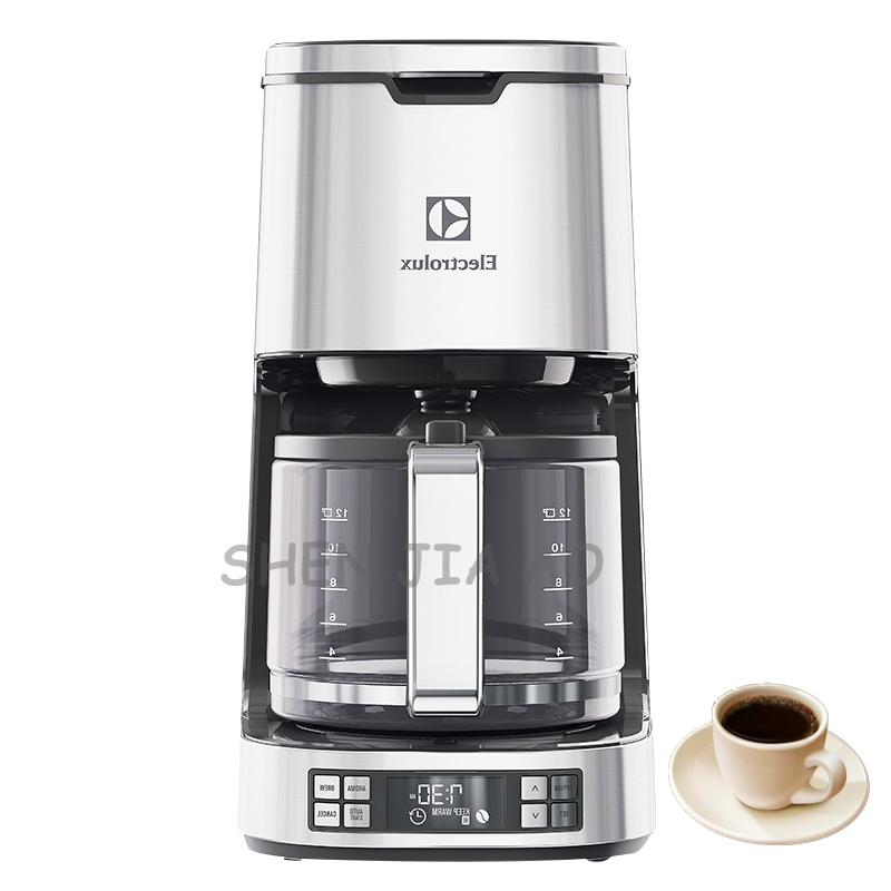 Household / commercial American coffee maker ECM7804S fully automatic coffee maker drip coffee maker machine 220V 1000W md236 commercial drip coffee maker household automatic american coffee maker