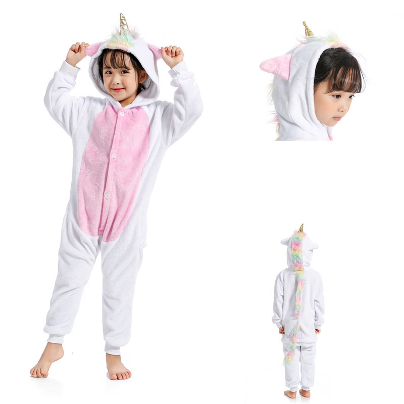 Dropwow Flannel Animal unicorn panda onesie pajamas women s warm ... 54d9fc6f2
