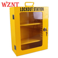 NT K04 Metal lock cabinet combination package security padlock Safety lock box LOTO Safety Lockout Kit lockout station