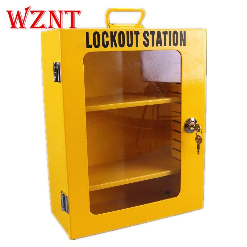 NT-K04 armoire de verrouillage en métal combinaison paquet cadenas de sécurité boîte de verrouillage de sécurité LOTO Kit de verrouillage de sécurité station de verrouillage