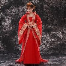 장엄한 제국 공주 중국 의상 여성 요정 의류 hanfu 후행 드레스 중국어 고대 clothes18