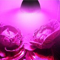 Полноспектральный светильник E27 светодиодный светильник для выращивания растений, светодиодный светильник lampara для выращивания растений, ...