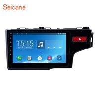 Seicane 9 дюймов HD четырехъядерный 2din Android 8,1 автомобильный Радио gps навигационная система мультимедийный плеер для 2014 2015 HONDA JAZZ/FIT