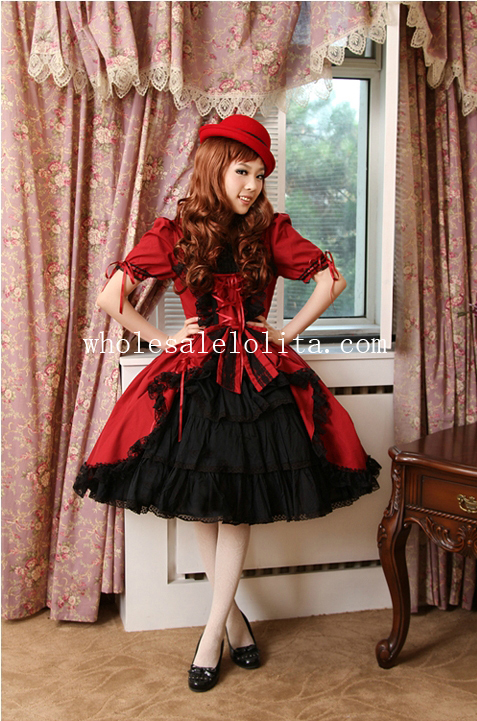 Hot Sale Vintage Cotton Gothic Lolita Dress New Style Lolita Channel  Ball Gown 6XL For Sale Tea Party Dress Платье