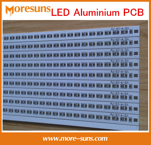 Free Ship Aluminum Based Printed Circuit Board Assembly LED Aluminum PCB board for LED soldering LED PCBA