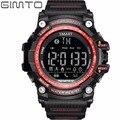Gimto smart watch hombres digital relojes deportivos para los hombres de silicona cronógrafo reloj de pulsera relogio relojes electrónicos de led estancos