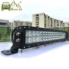 hot deal buy 5d 22 inch 200w led work light bar for tractor boat offroad 4wd 4x4 truck suv atv 12v 24v lada niva combo driving bar lights
