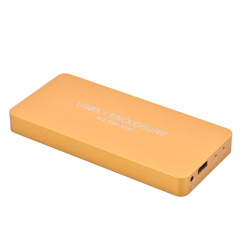 High speed stability steel metal case M 2 NGFF to USB3 1 Type C adapter USB