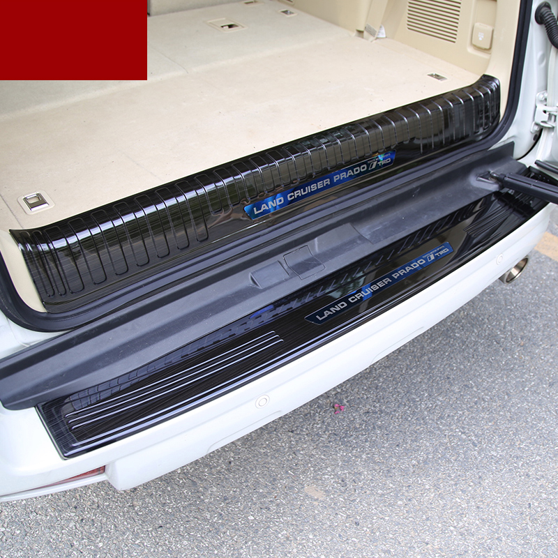 fast shpping car trunk protection trims for toyota land cruiser prado 2010 2011 2012 2013 2014 2015 2016 2017 2018 trunk cargo cover security sheild for toyota land cruiser prado fj150 2010 2011 2012 2013 2014 2015